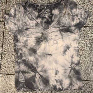 AEO, Soft&Sexy gray marble short sleeve t-shirt